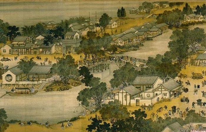 东方白大草书法之大草风景画与开封《清明上河图》